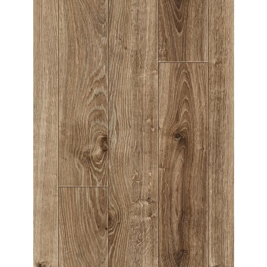 Allen Roth Handsed Weathered Oak 4 96 In W X 23 Ft L