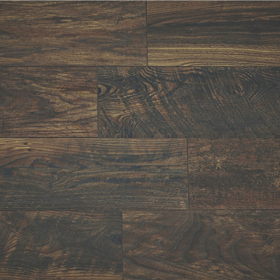 Allen Roth Reclaimed Wood Medley 6 18 In W X 4 23 Ft L Embossed