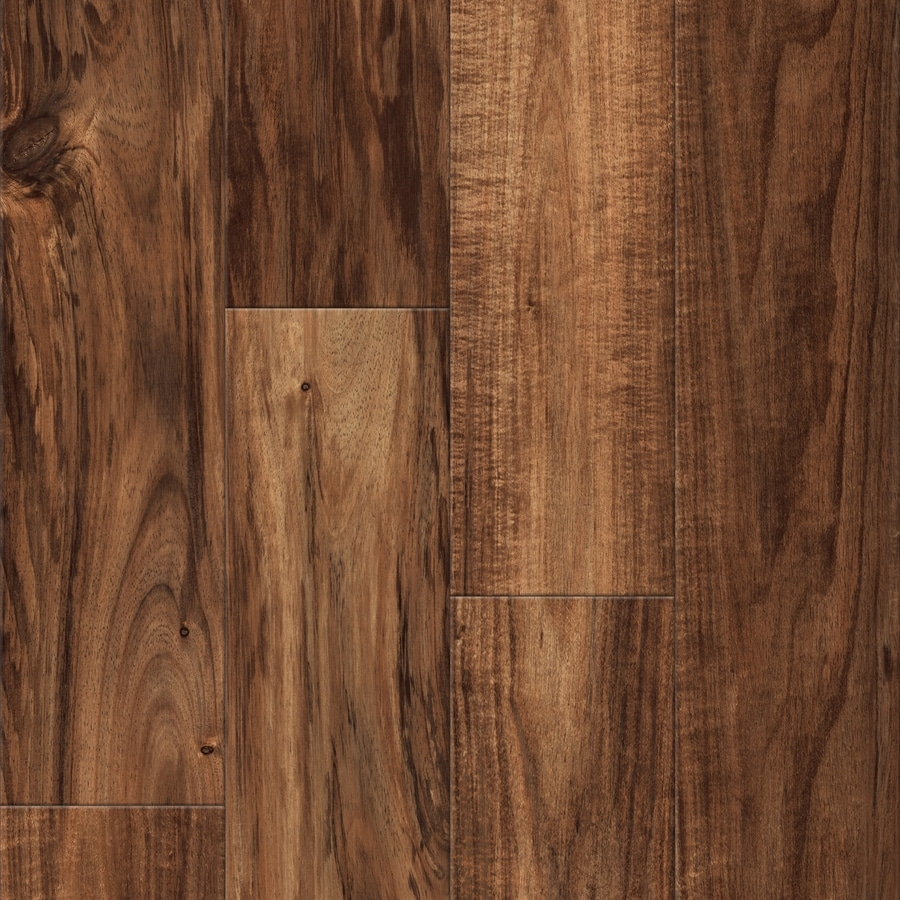 Shop Allen Roth Natural Acacia Wood Planks Laminate