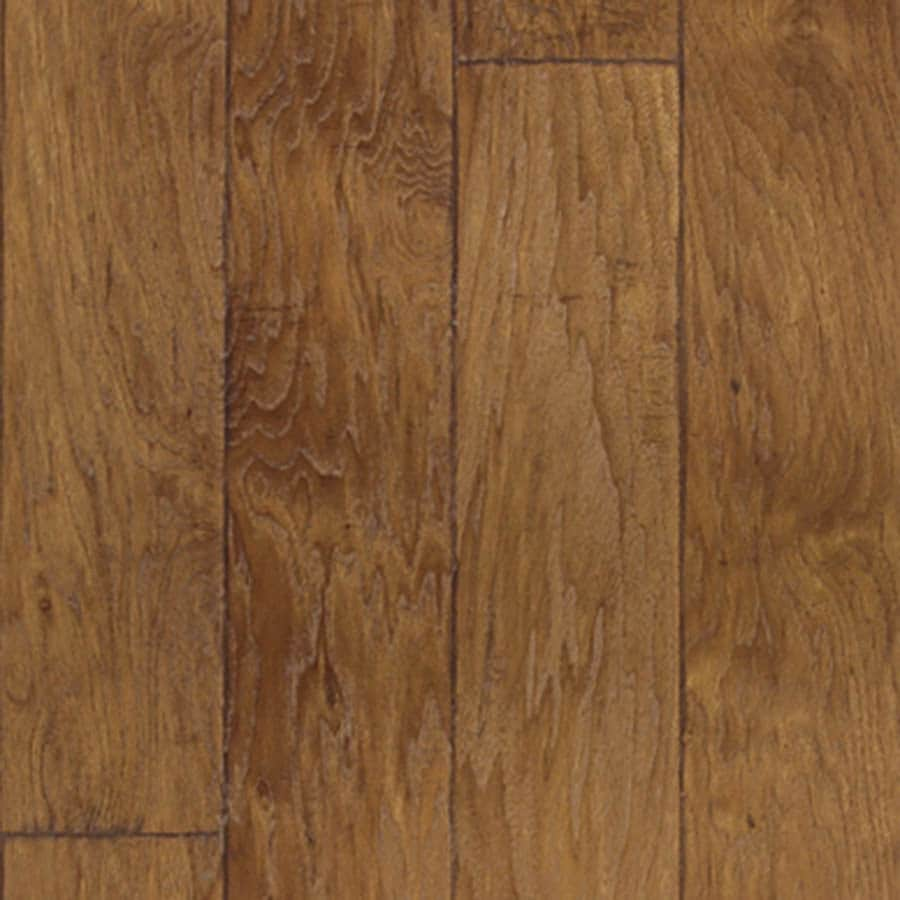 Style Selections 4.84-in W x 3.93-ft L Almond Handscraped Laminate Wood Planks