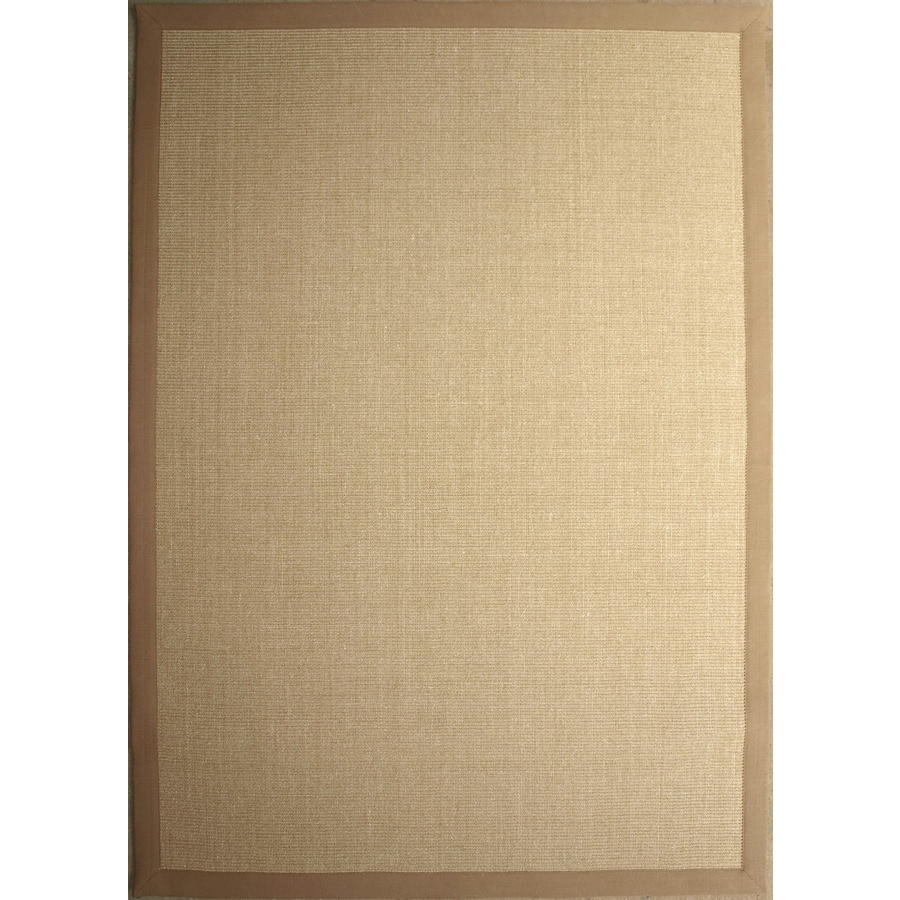 Style Selections Rectangular Indoor Woven Area Rug (Common: 5 x 7; Actual: 60-in W x 84-in L)