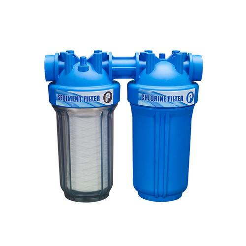 Pelican Water Systems >> Whole House Dual Stage Carbon Block Whole House Water Filtration System