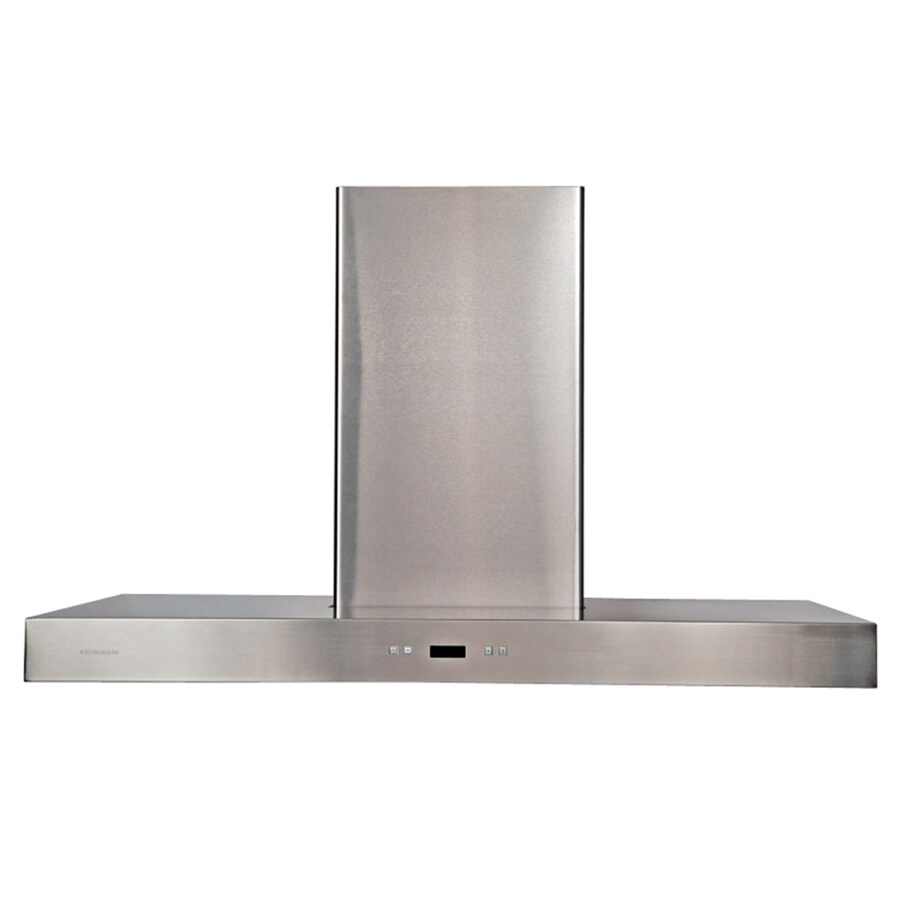 Cavaliere Convertible Island Range Hood (Stainless steel) (Common: 36-in; Actual: 35.6-in)