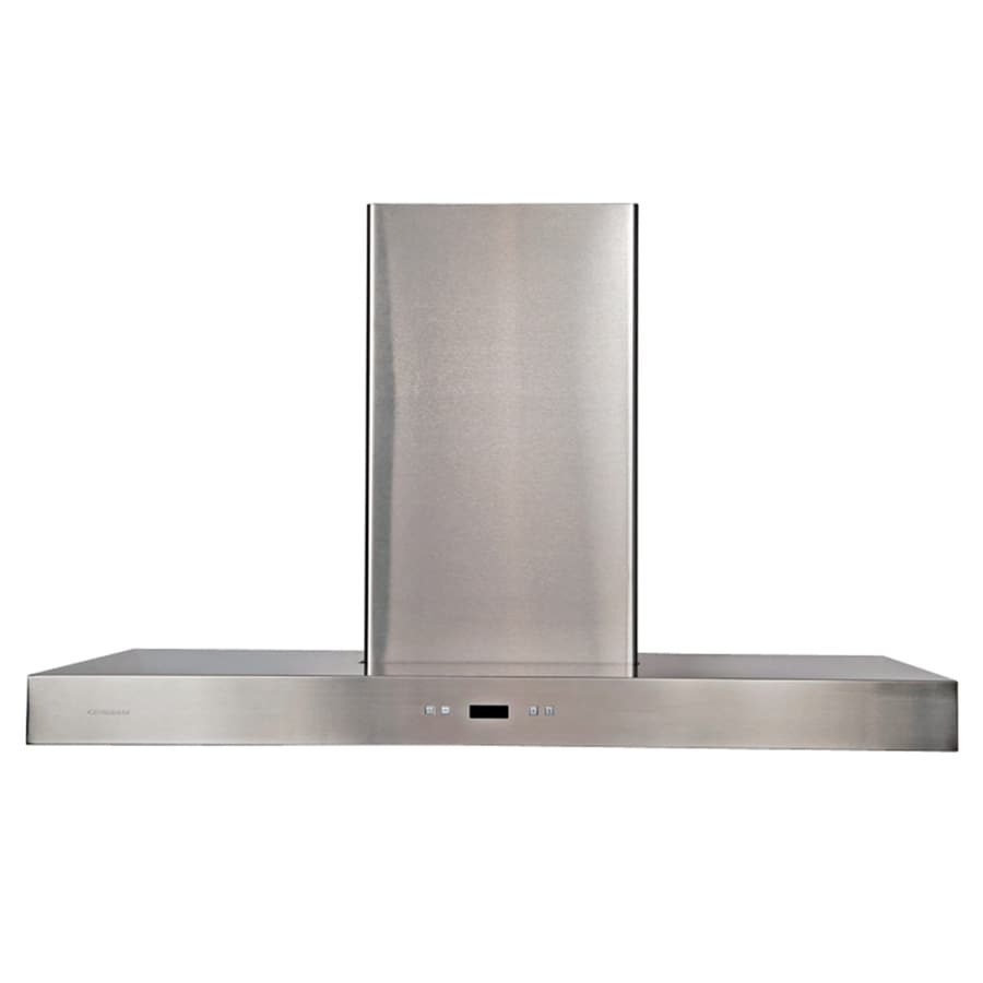 Cavaliere Convertible Island Range Hood (Stainless Steel) (Common: 42-in; Actual: 42-in)