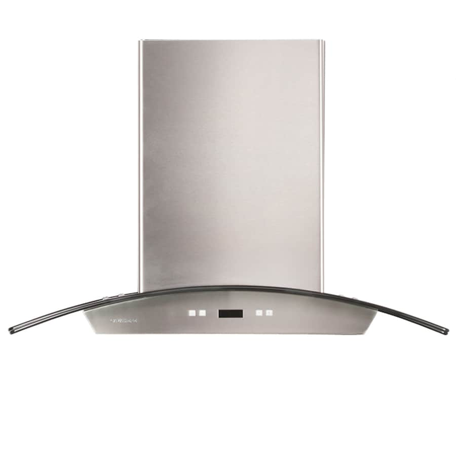 Cavaliere Convertible Wall-Mounted Range Hood (Stainless Steel) (Common: 36-in; Actual: 36-in)