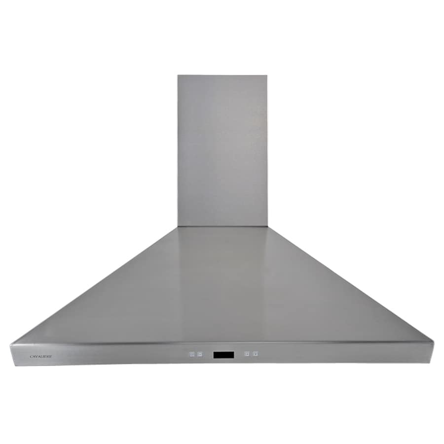 Cavaliere Convertible Wall-Mounted Range Hood (Stainless steel) (Common: 36-in; Actual: 35.5-in)
