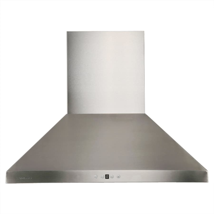 Cavaliere Ducted Wall-Mounted Range Hood (Stainless Steel) (Common: 36-in; Actual: 36-in)