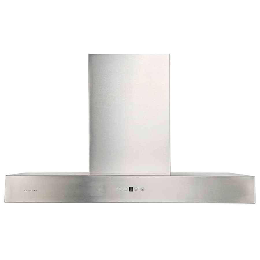 Cavaliere Ducted Wall-Mounted Range Hood (Stainless steel) (Common: 36-in; Actual: 35.5-in)