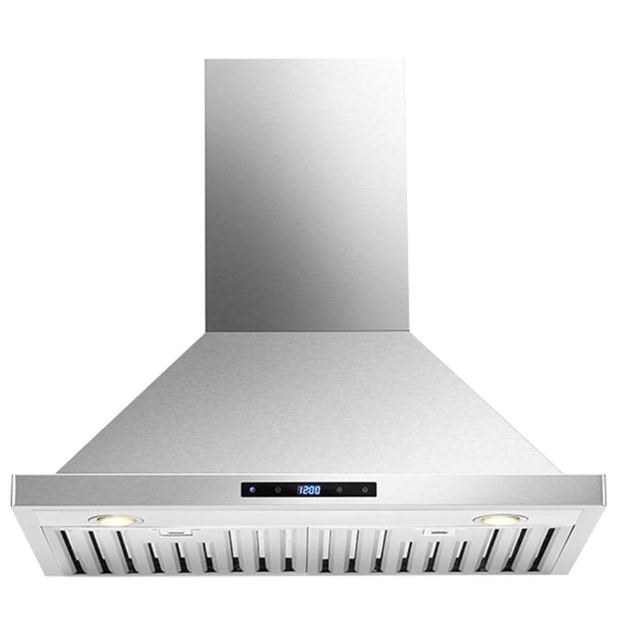 Cavaliere Convertible Wall-Mounted Range Hood (Stainless steel) (Common: 30-in; Actual: 29.5-in)
