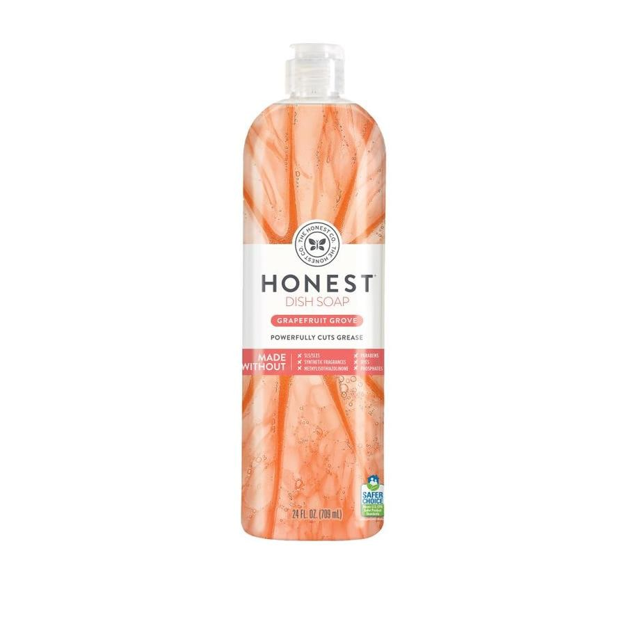 The Honest Company Dish Soap Grapefruit Grove
