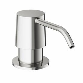 Kitchen Sink Soap Dispenser Brushed Nickel Shop soap lotion dispensers at lowes vigo kitchen accessories stainless steel soap and lotion dispenser workwithnaturefo