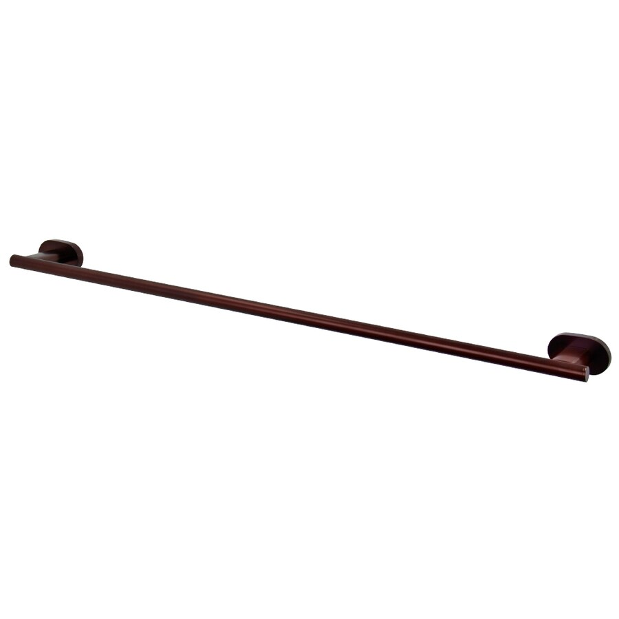 VIGO Ovando Oil Rubbed Bronze Single Towel Bar (Common: 24-in; Actual: 26.375-in)