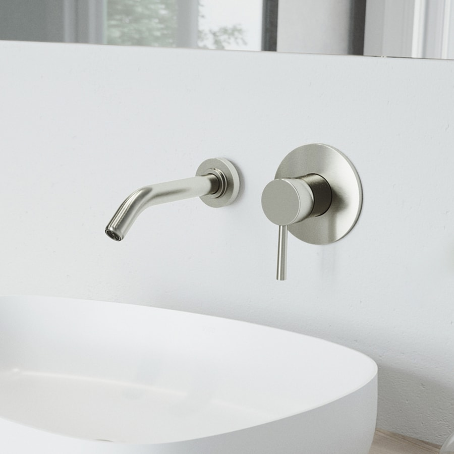 vigo bathroom faucets. VIGO Brushed Nickel 1-Handle Single Hole WaterSense Bathroom Faucet Vigo Faucets