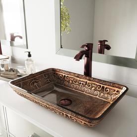 Shop Vessel Bathroom Sinks at Lowes.com