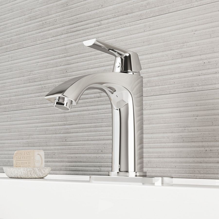 Single Lever Bathroom Faucets: Shop VIGO Chrome 1-Handle Single Hole WaterSense Bathroom