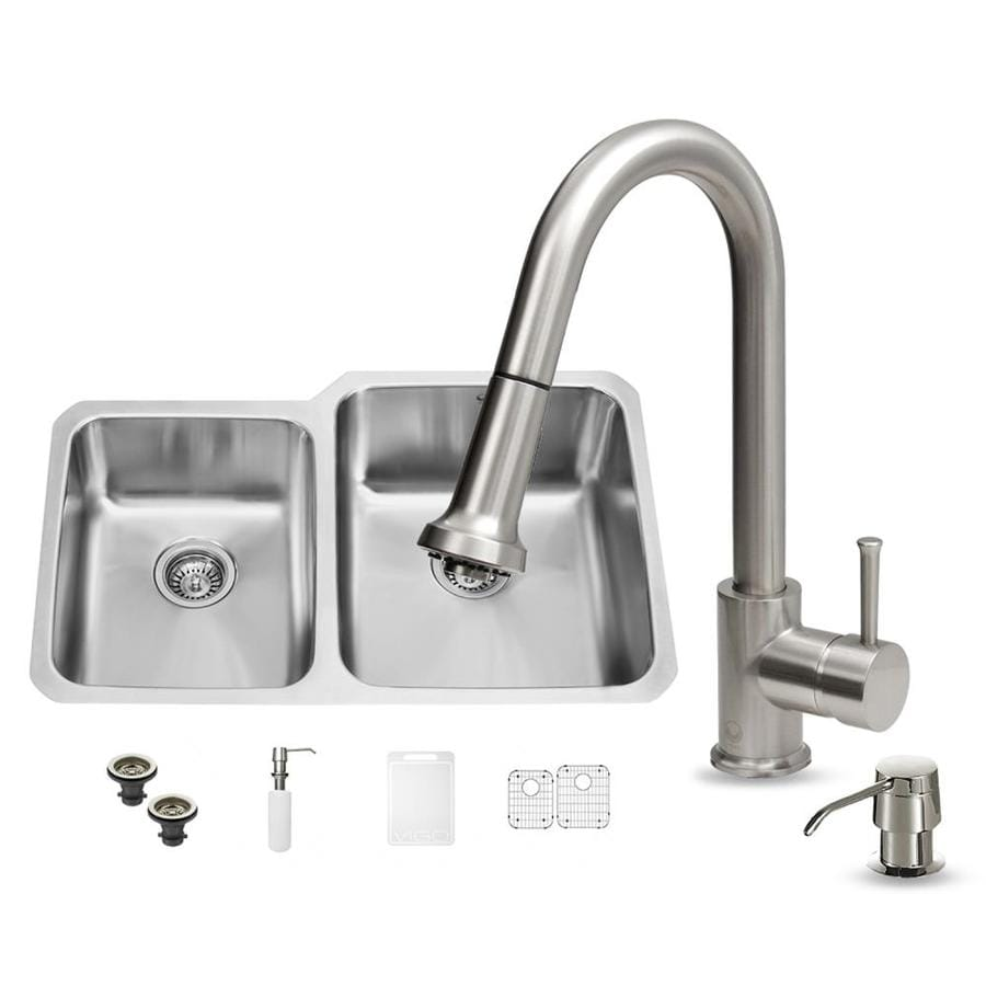 Cleaning A Dual Action Kitchen Sink Faucet