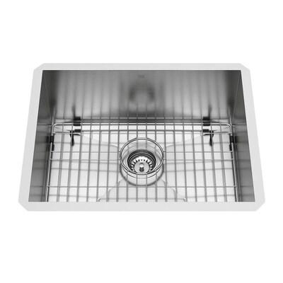 16-Gauge Single-Basin Undermount Stainless Steel Kitchen Sink