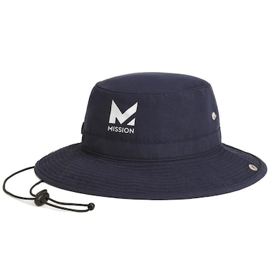 Mission HydroActive Bucket Hat Navy at Lowes com