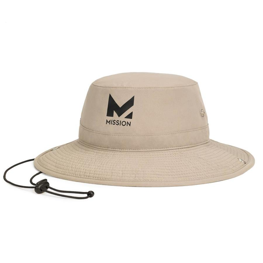 7ea016b9 Mission HydroActive Bucket Hat Khaki at Lowes.com