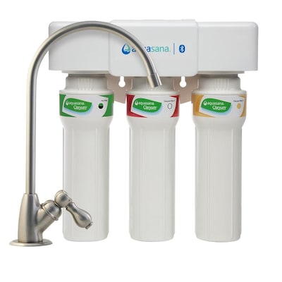 Max Flow Triple Stage Carbon Block Under Sink Water Filtration System