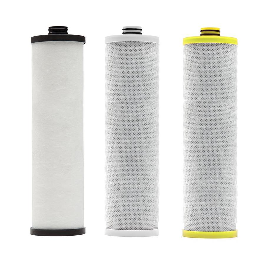 Shop aquasana 5 8 in x 2 2 in under sink replacement filter at - Lowes water filter under sink ...