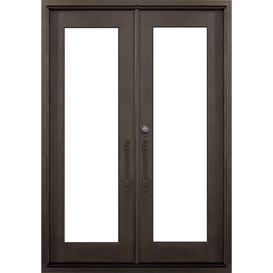 shop florida iron doors french insulating core full lite