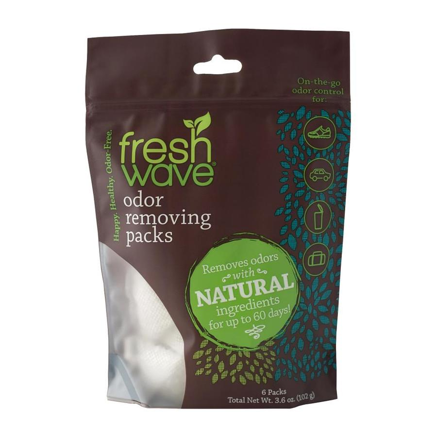 Shop fresh wave packs 6 ct unscented odor eliminator at for Unscented bathroom deodorizer