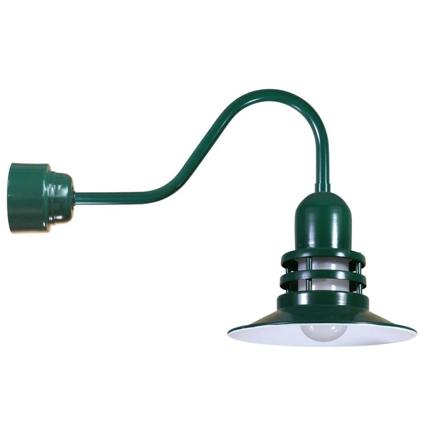 Brooster 12-in W 1-Light Green Arm Wall Sconce