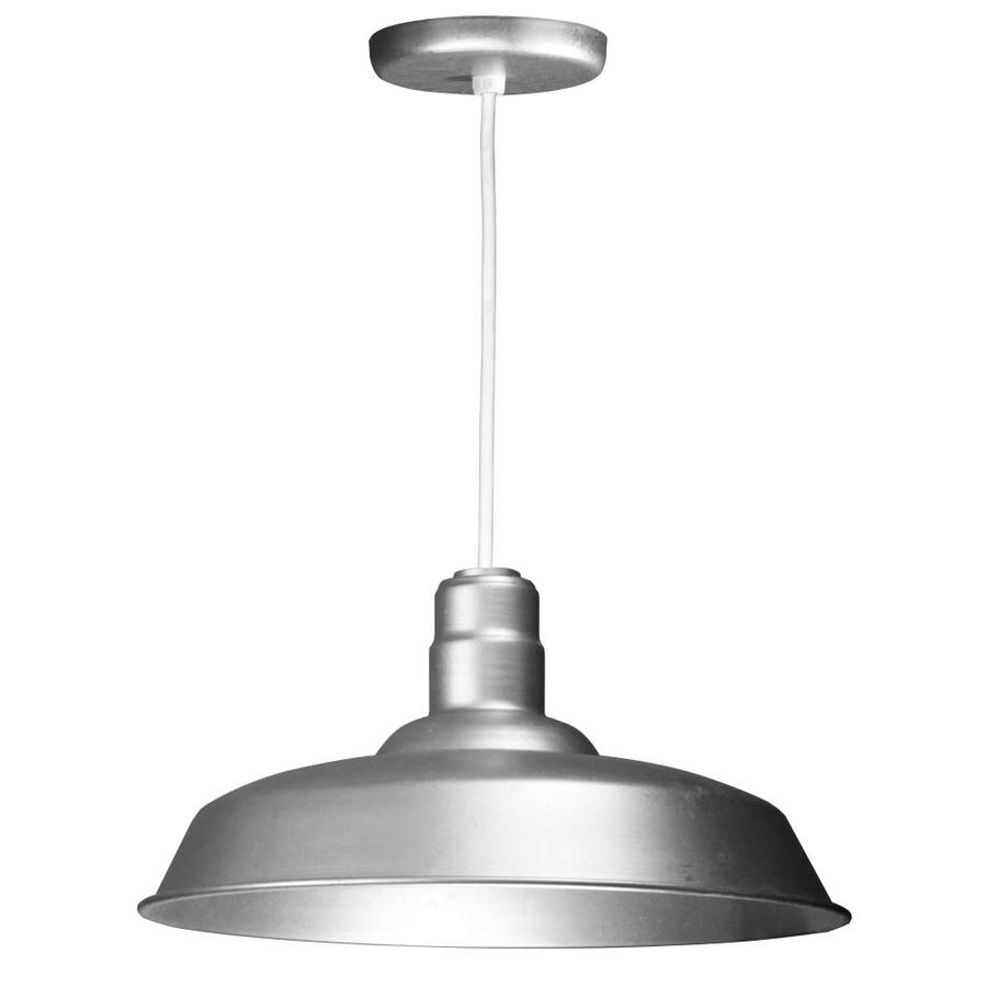 Brooster 20 In Galvanized Mini Pendant