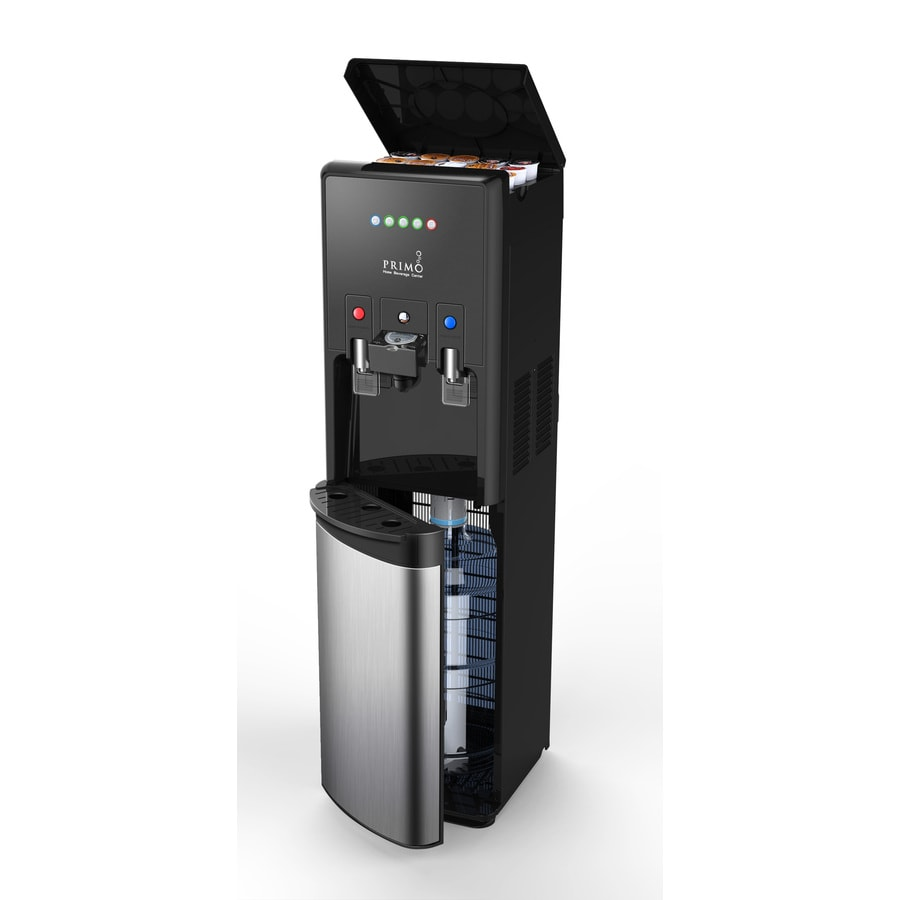 Shop primo htrio black and stainless steel bottom loading for Primo water dispenser
