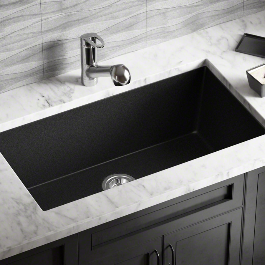 Composite Undermount Kitchen Sinks At Lowes Com