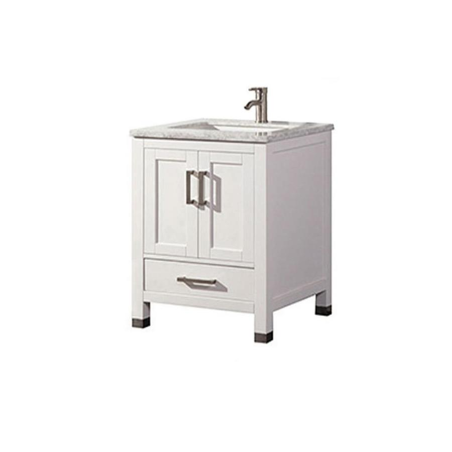 30 Bathroom Vanity Grey shop mtd vanities grey integral single sink bathroom vanity with
