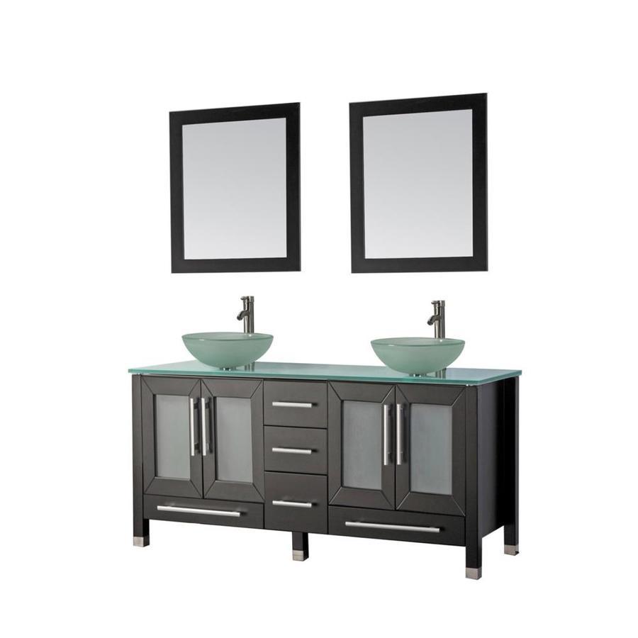 Bathroom Vanities With Glass Tops With Original
