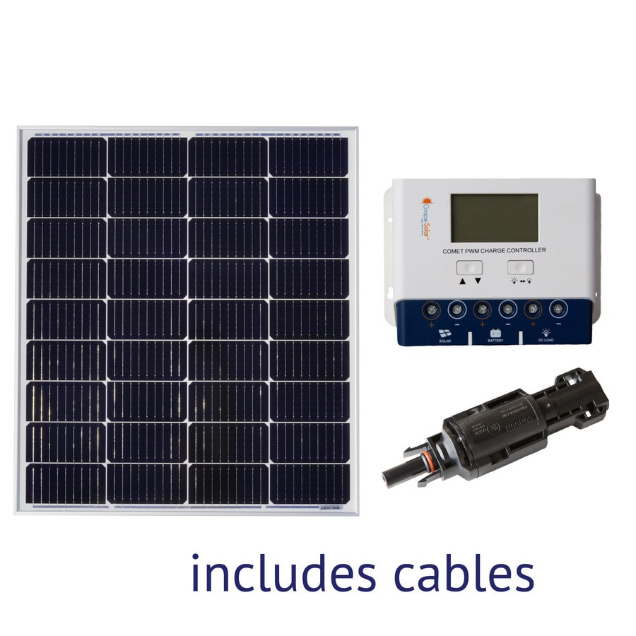 Grape Solar 0.1-kW Off-Grid Solar Electric Power Kit