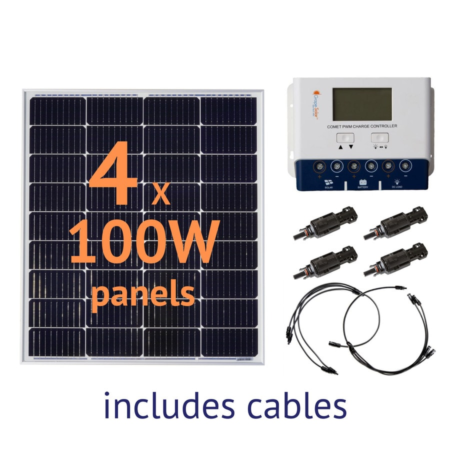 Grape Solar 0.4-Kilowatt Off-Grid Solar Electric Power Kit
