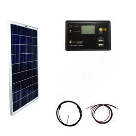 Shop portable solar panels kits at lowes grape solar off grid power kits 12 volt portable solar power kit solutioingenieria Images
