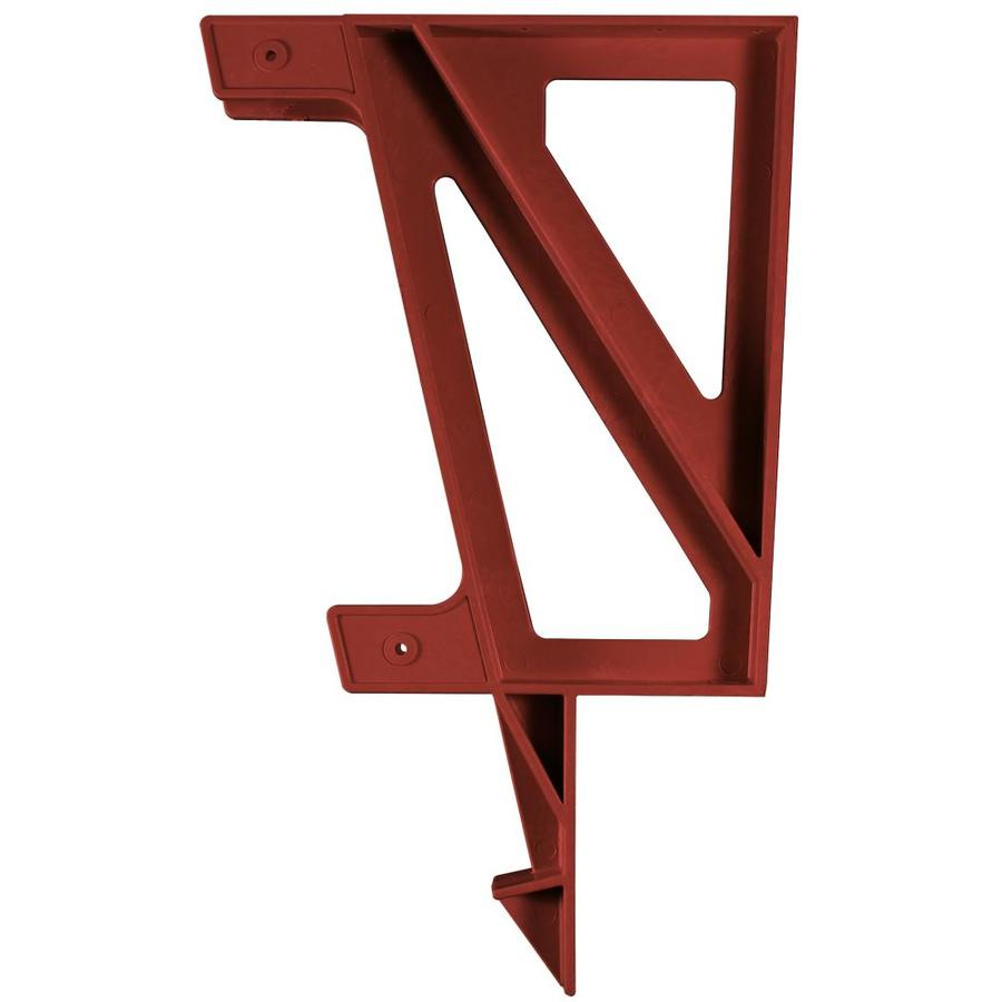 2x4basics Redwood Polyresin Bench Brackets