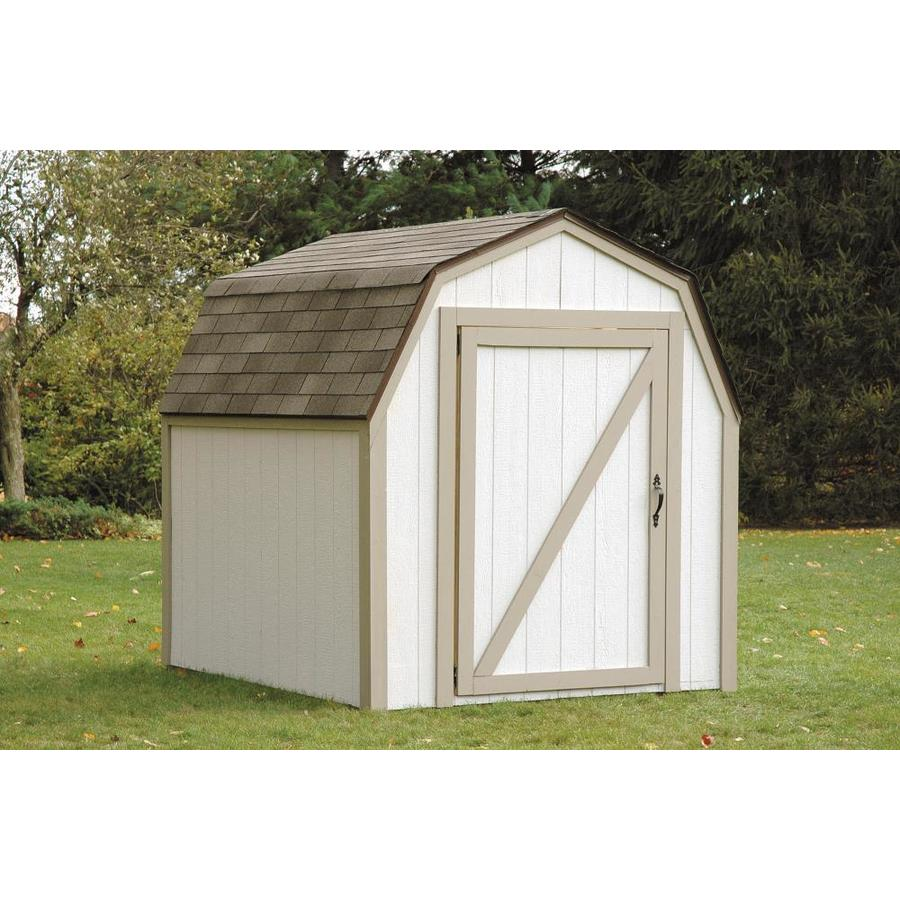Shop hopkins 8 ft x 7 ft metal storage shed expansion kit for Barn storage shed