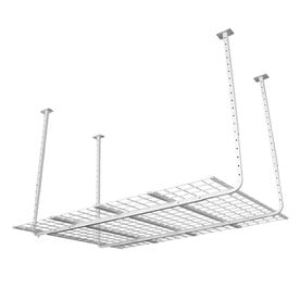 Charmant HyLoft 60 In W X 45 In D White Steel Overhead Garage Storage