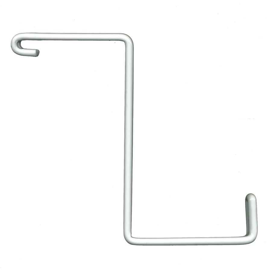 HyLoft Add-On 4-Pack 0.38-in White Steel Utility Hooks