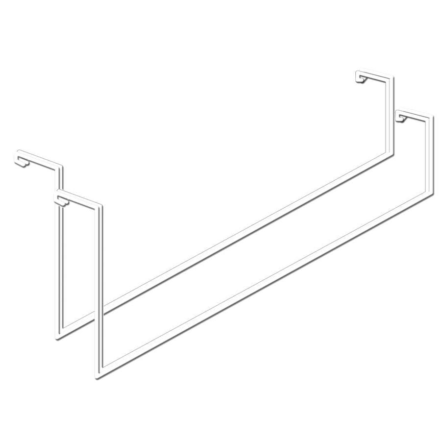 HyLoft Ladder 2-Pack 4.1-in White Steel Utility Hooks