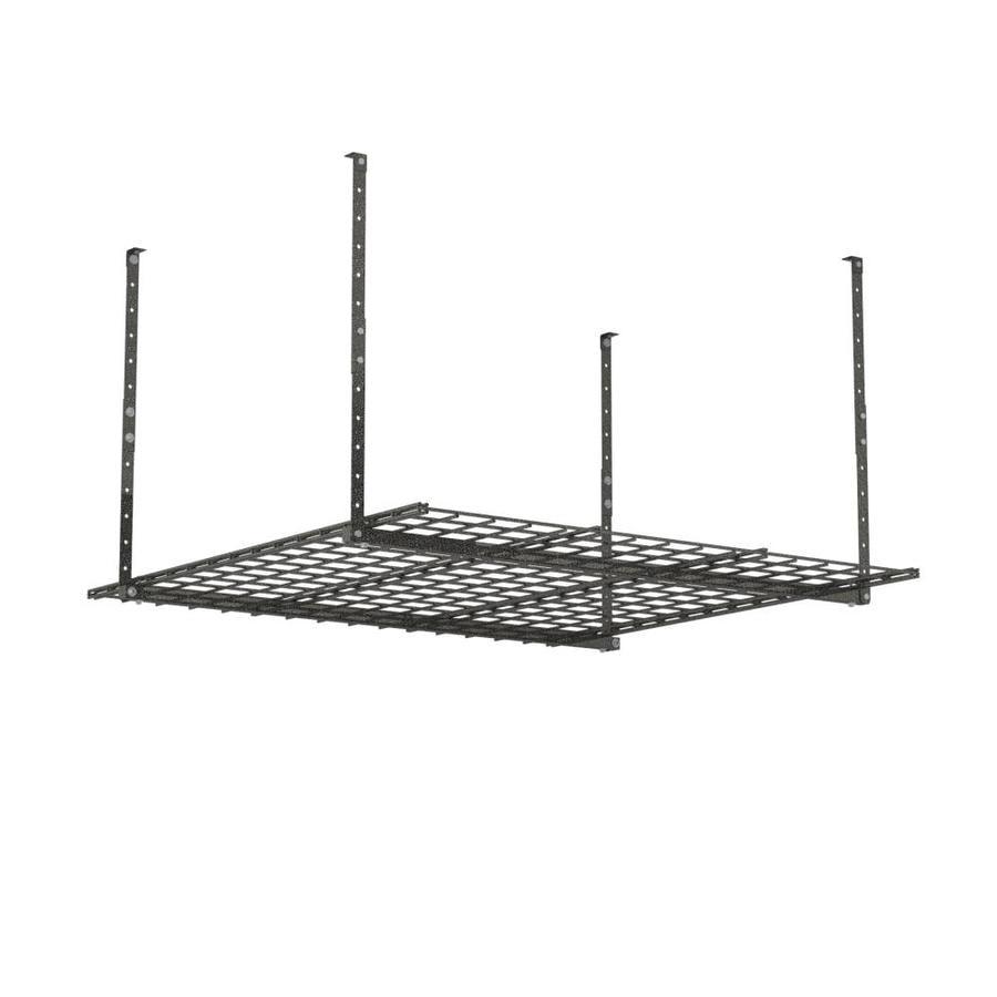 HyLoft 45-in W x 45-in D Black Steel Overhead Garage Storage