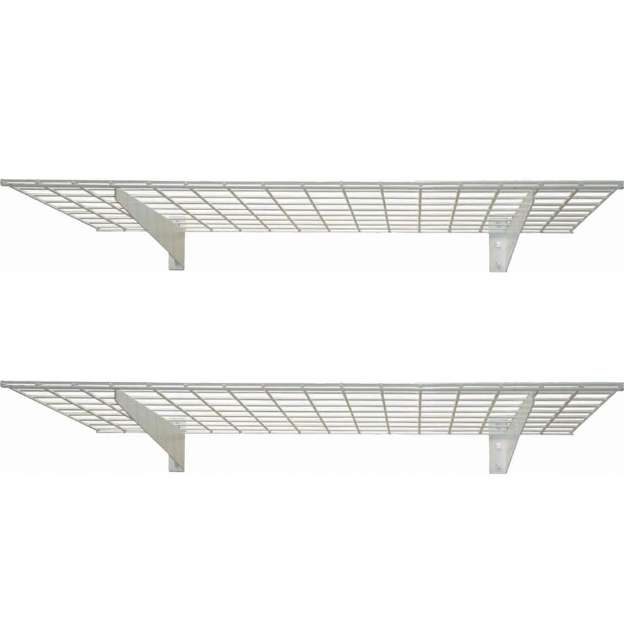 HyLoft 45-in W x 4.25-in H x 15-in D Steel - Shop Wall Mounted Shelving At Lowes.com