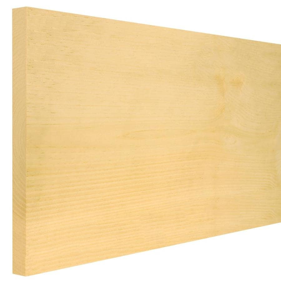 (Common: 1-in X 12-in x 12-ft; Actual: 1-in x 12-in x 12-ft) Eastern White Pine Board
