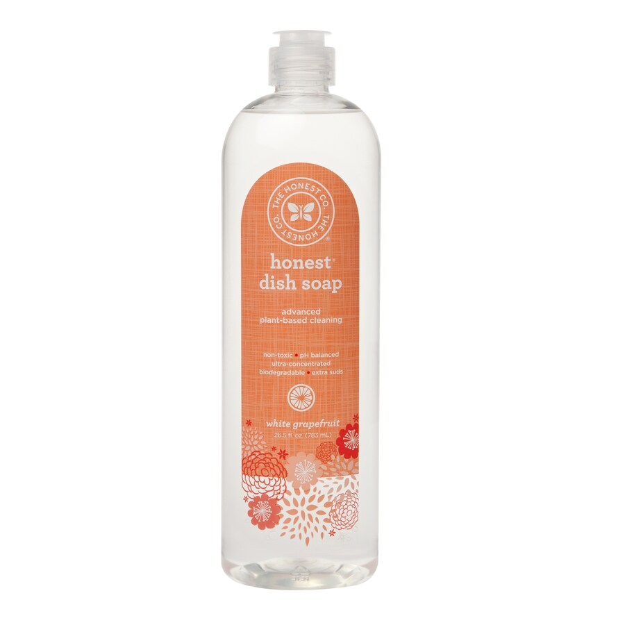 The Honest Company 26.5-oz White Grapefruit Dish Soap