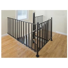 Paint Stair Railing Black