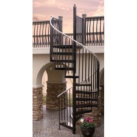 Shop staircase kits at for 4 foot spiral staircase