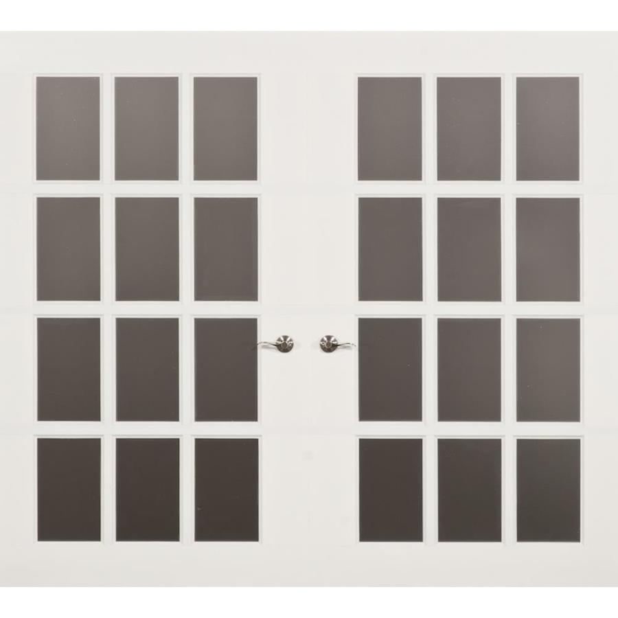 Shop Frenchporte Jennifer 108 In X 84 In White Single