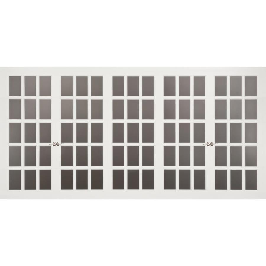 White 15 6 X7 Carriage Style 16 Clic Garage Doors