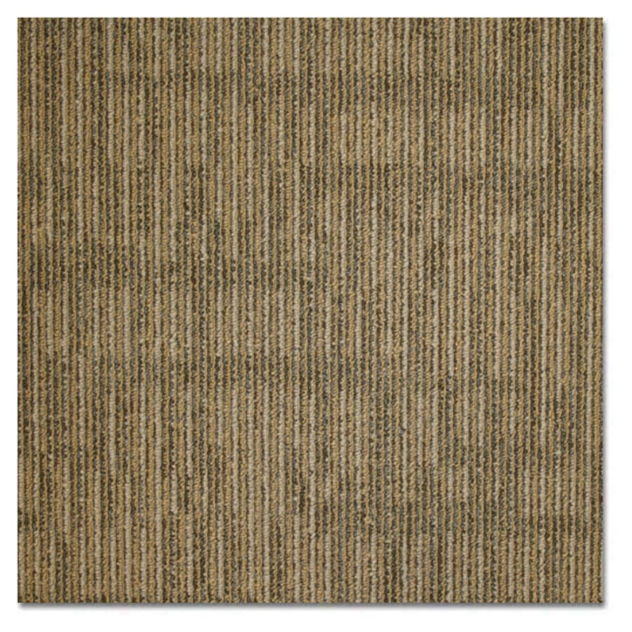 Shop carpet tile at lowes kraus home and office 20 pack 19625 in x 19625 in gold rush baanklon Choice Image